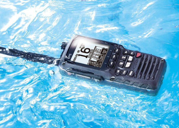 submersible marine two way radio
