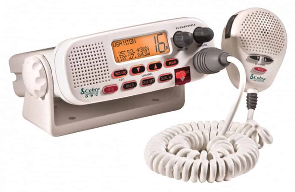 Cobra Electronics MR F45-D Class-D Fixed Mount VHF Radio