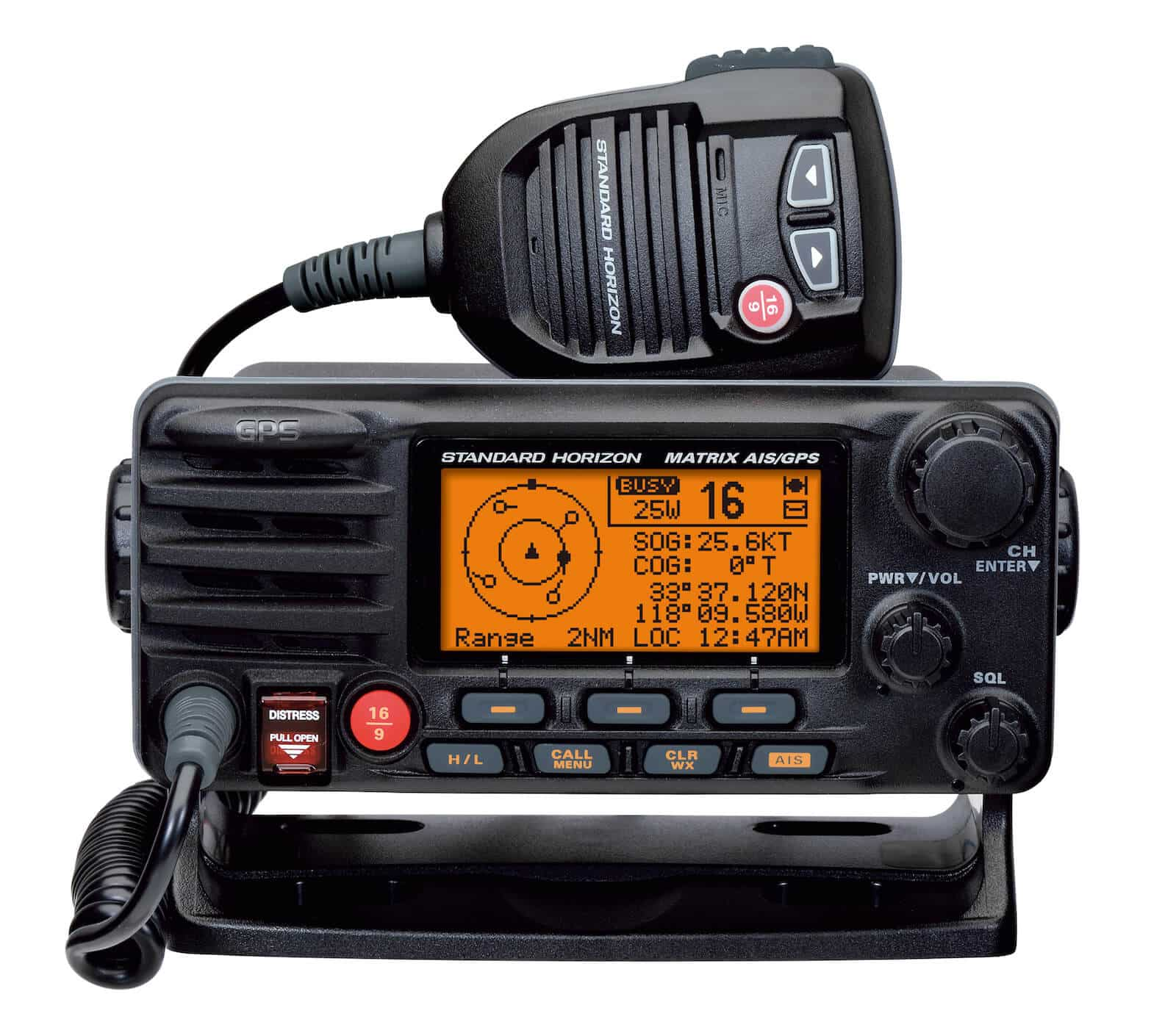 Looking for a comparison chart of marine VHF radios?