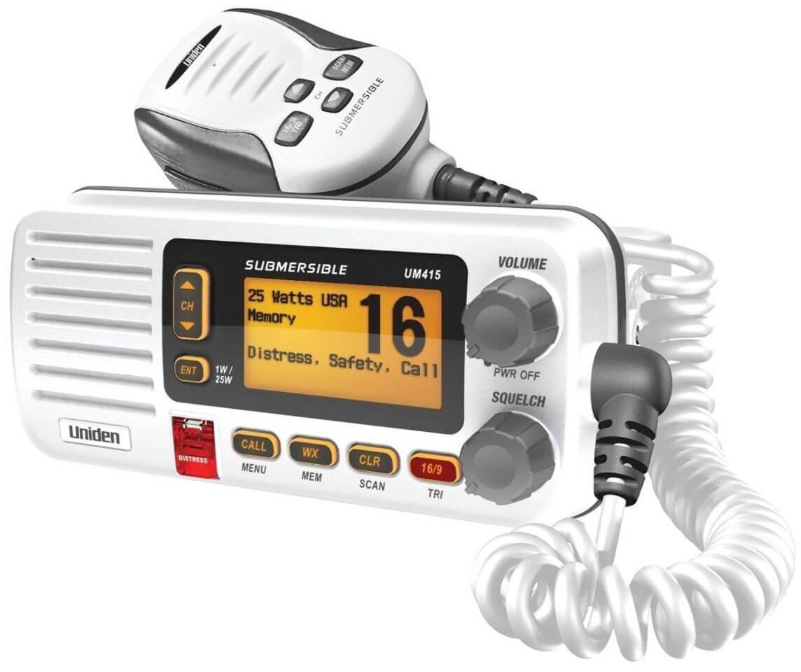 Uniden UM415 Fixed Mount Class D VHF Marine Radio