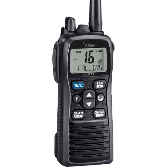 icom IC-M73 handheld marine radio