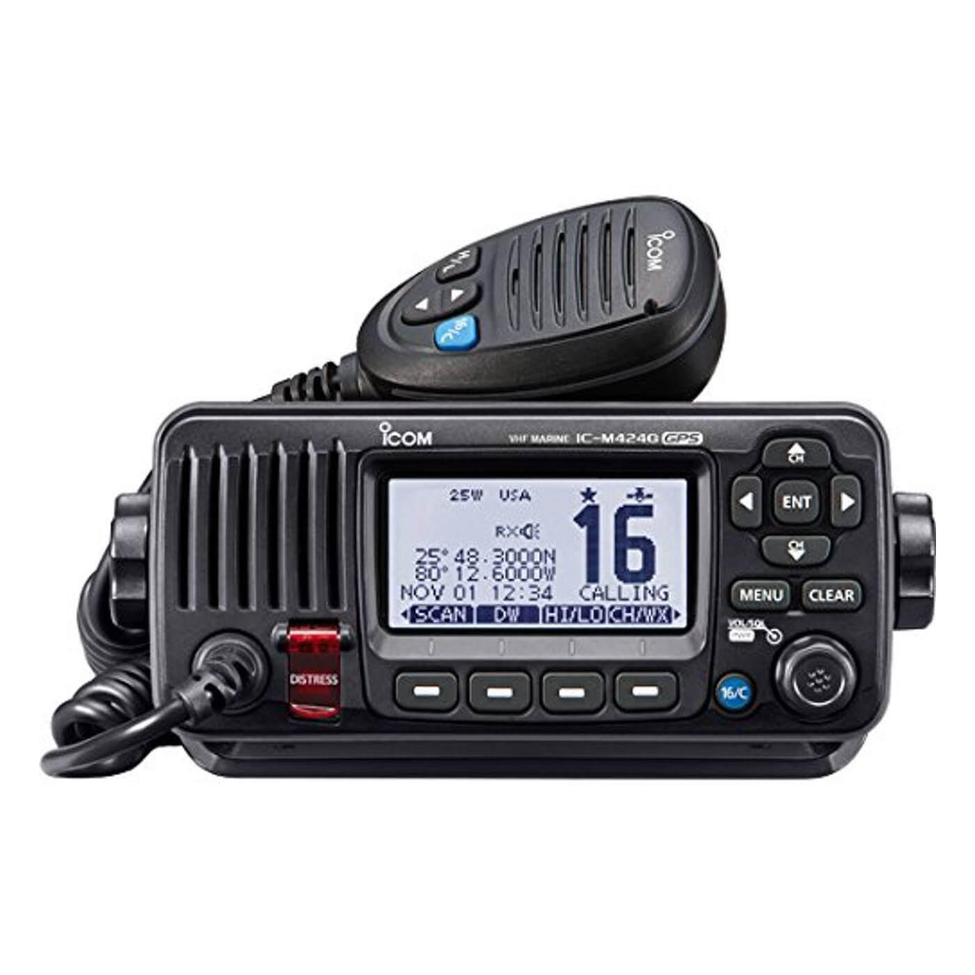 ICOM IC-M424G Compact Marine VHF Radio