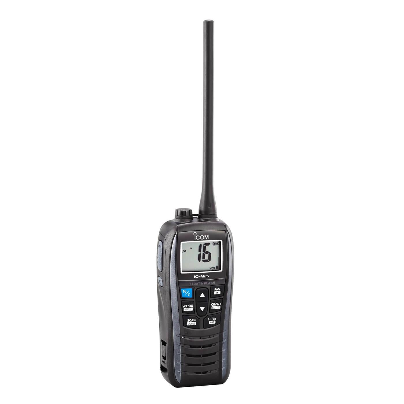 Icom IC-m25 VHF handheld radio