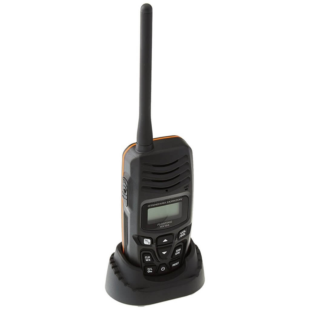 Standard Horizon Hx150 Vhf Radio Review Best Marine Products