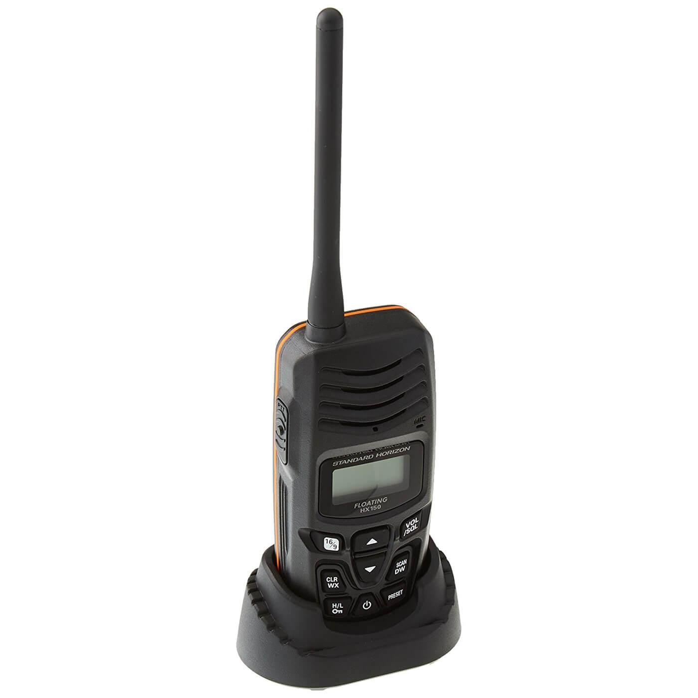 Standard Horizon HX150 VHF marine radio