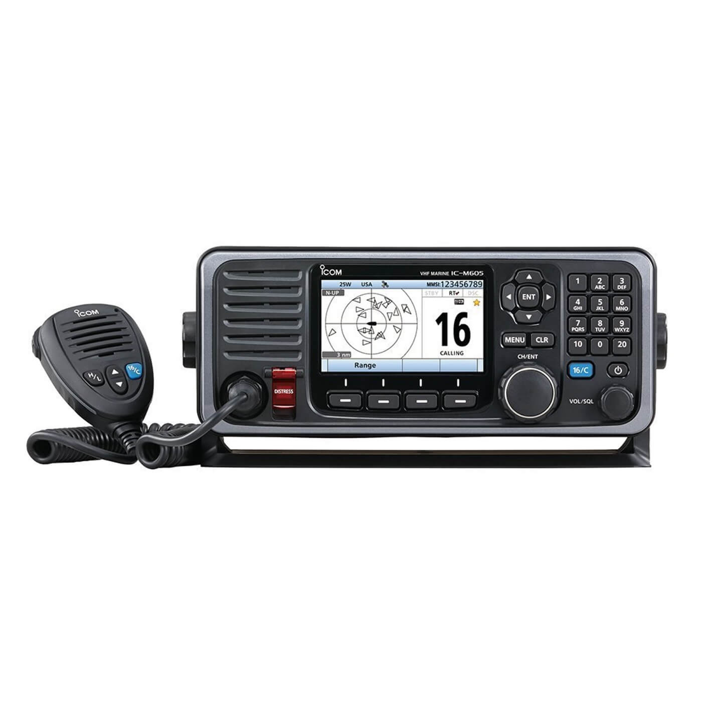 ICOM M605 review