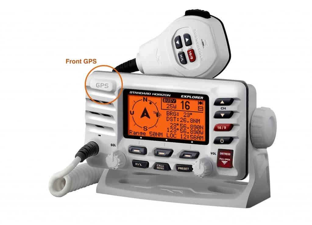 fixed mount radio with gps