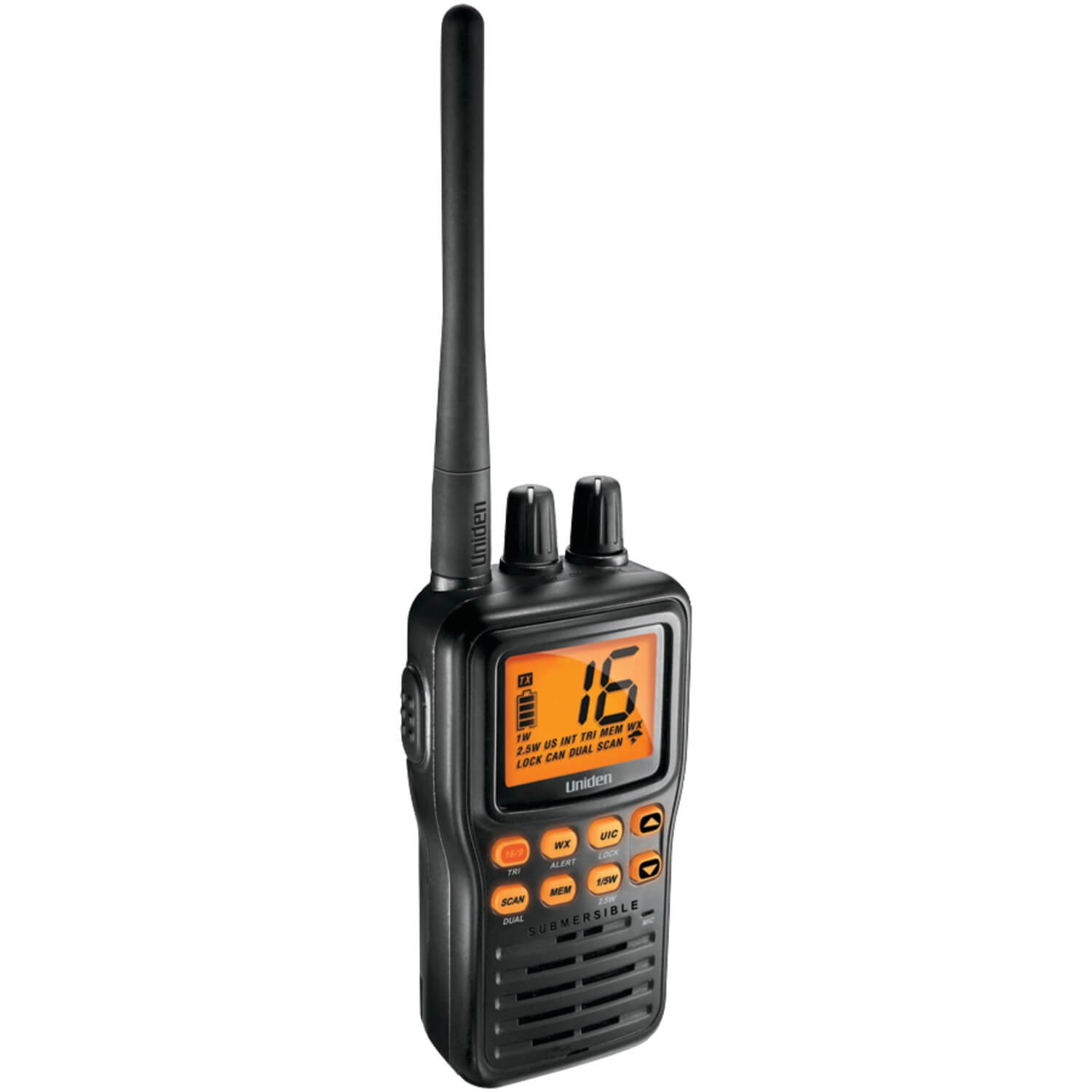 best entry level VHF radio uniden mhs75 vhf radio