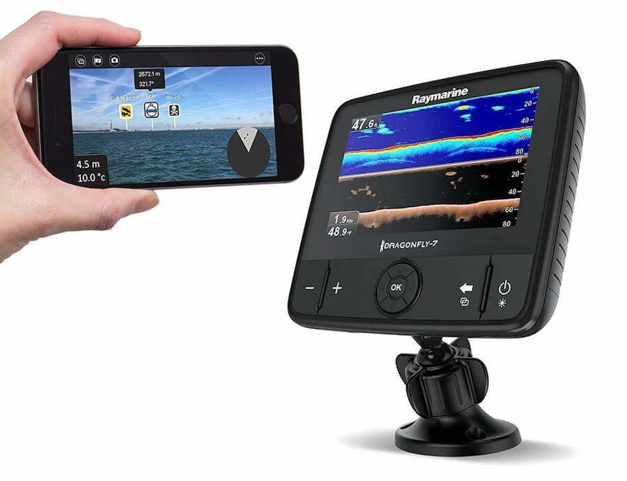 Raymarine Dragonfly Pro CHIRP Fish Finder with built in GPS and WiFi