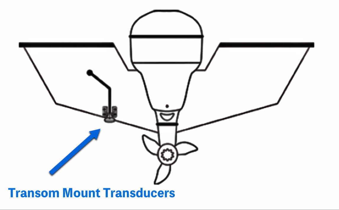 Transom Mount Transducers