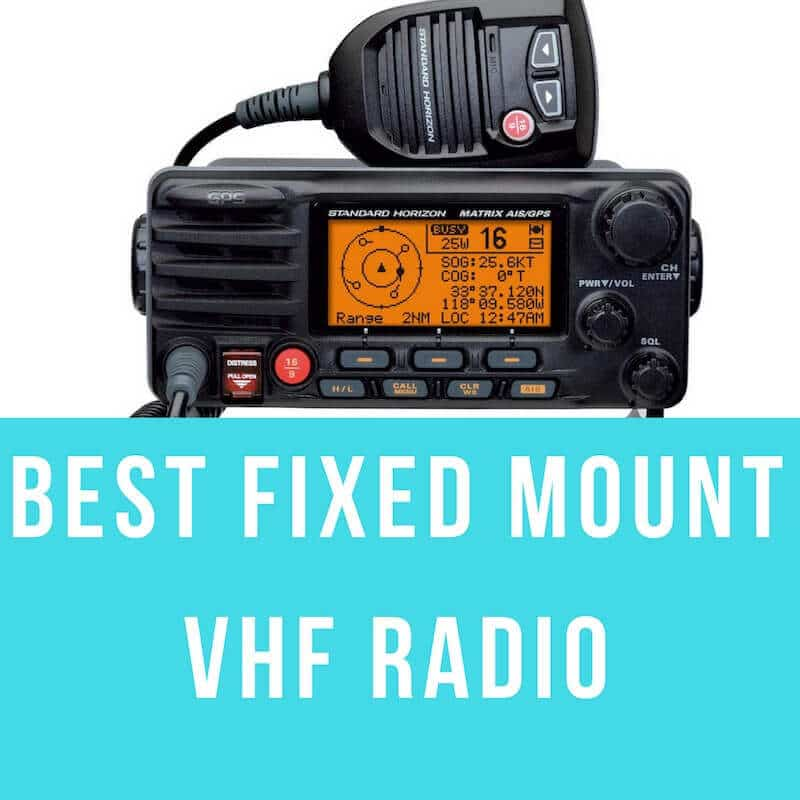 best fixed mount vhf marine radio of 2018. Black Bedroom Furniture Sets. Home Design Ideas