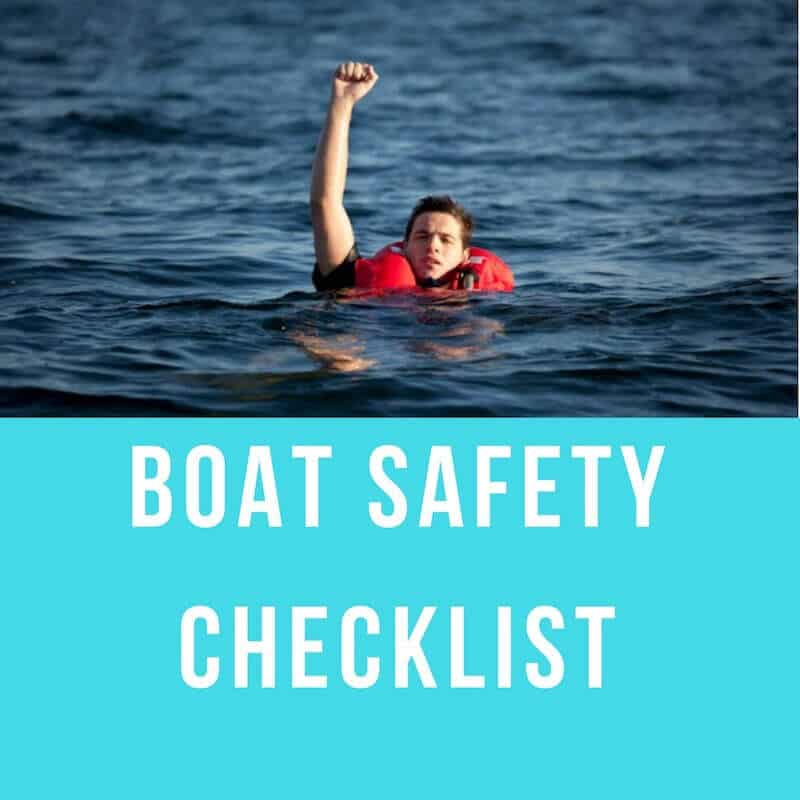 boat safety checklist