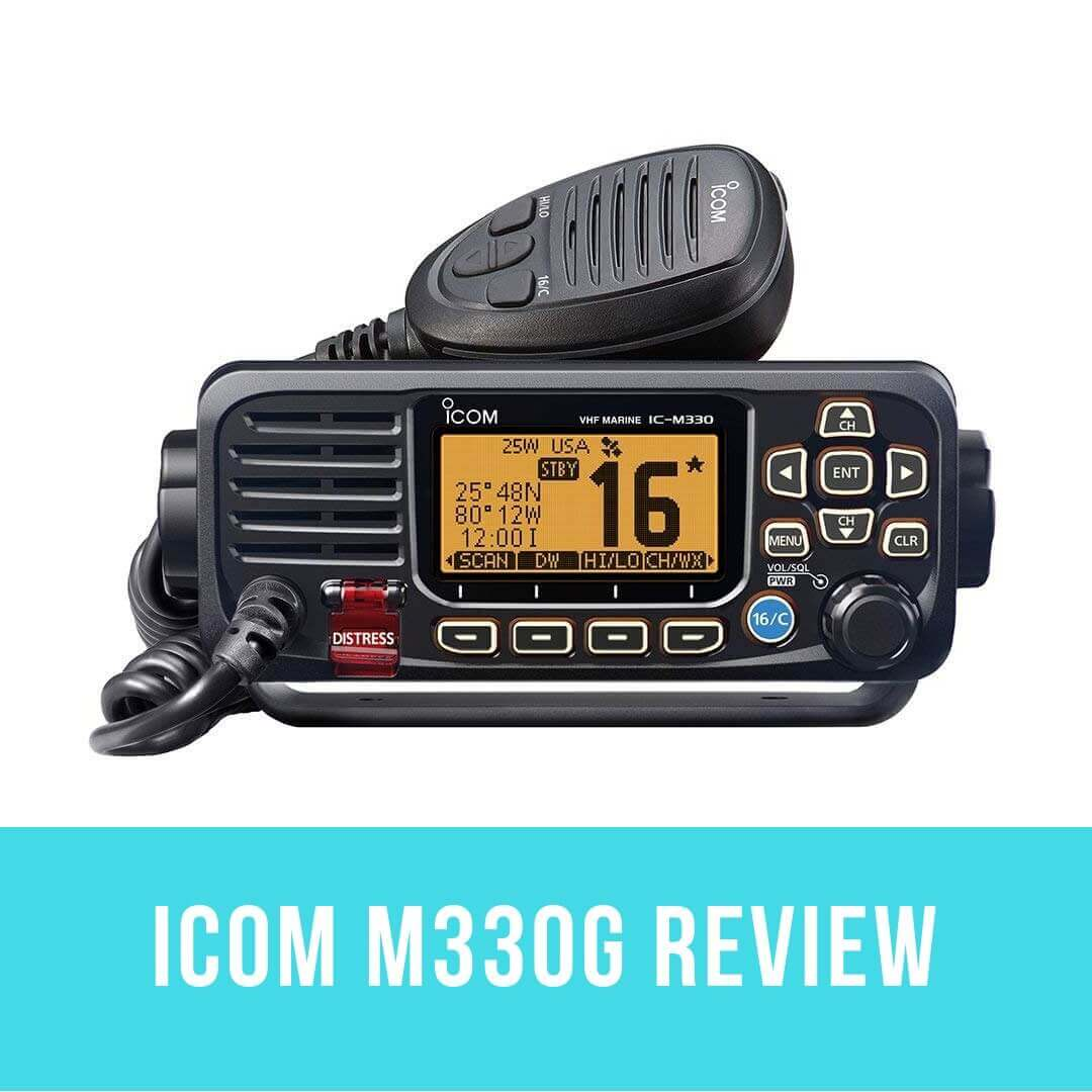icom m330g vhf radio review