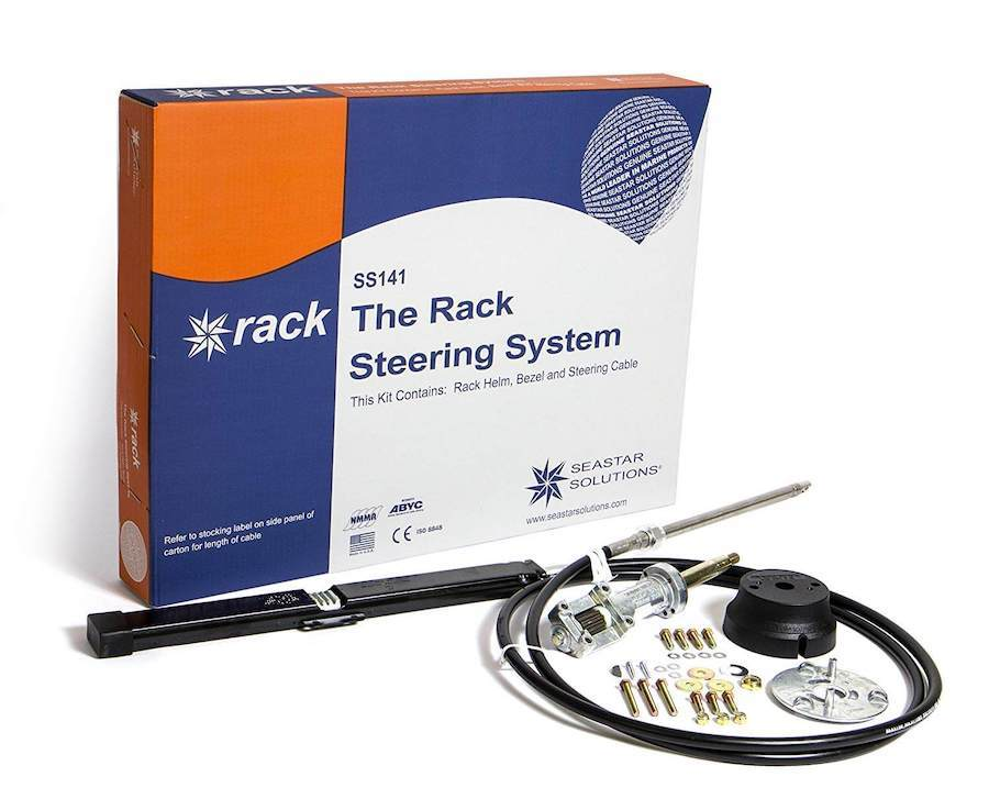 SeaStar Solutions Back Mount Rack Steering System