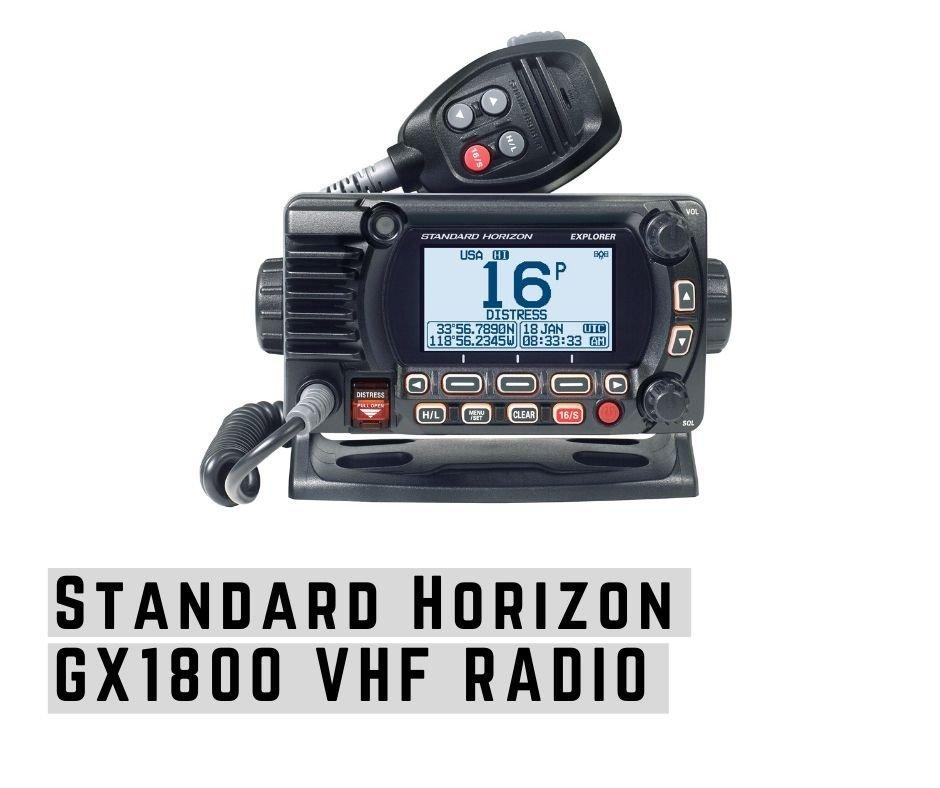 Standard Horizon GX1800 fixed mount vhf marine radio